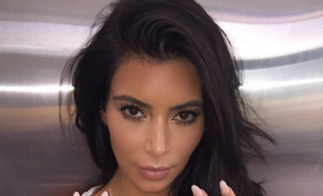 Kim Kardashian Shows Off Daughter-Inspired Bling: What Does It Say?