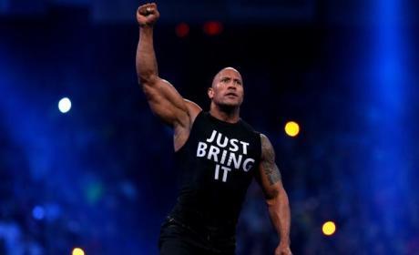 Dwayne Johnson as The Rock