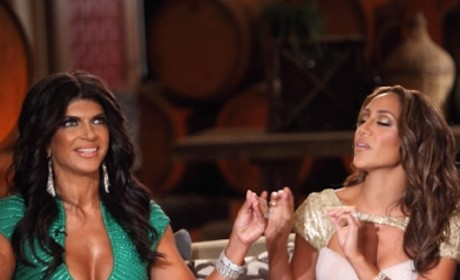 Teresa Giudice Gives Joe and Melissa Gorga the Cold Shoulder Before Prison