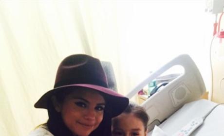 Selena Gomez Surprises Patients at Children's Hospital Los Angeles: See the Photos!