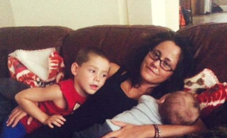 Jenelle Evans and Sons
