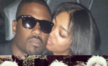 Ray J and Princess Love Break Up, Fight Over Fate of Maltese Puppy