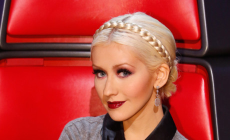 Christina Aguilera on NBC's The Voice