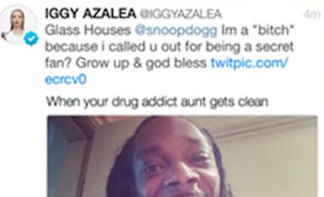 Iggy Azalea Shades Snoop Dogg