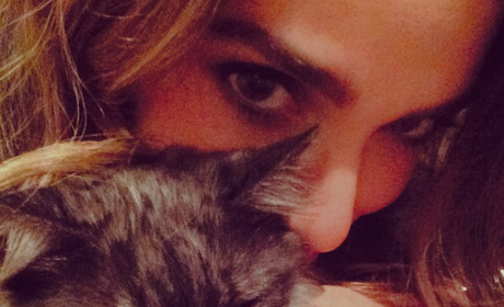 Nikki Reed, Cat Photo