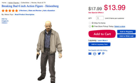 Toys R Us Yanks Breaking Bad Dolls, Gives In to Florida Mom