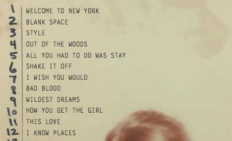 Taylor Swift Track List