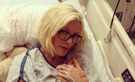Tori Spelling Explains Hospitalization: There Are Emotional Components ...