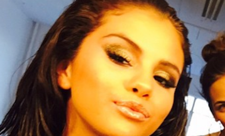 Selena Gomez Makes Like Kylie Jenner, Shows Off Pouty Lips on Instagram