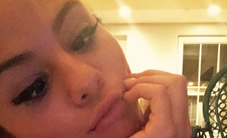 Selena Gomez Pouty Lips