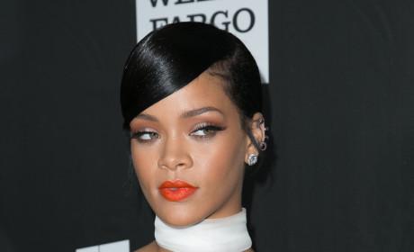 Revealing Rihanna Outfit