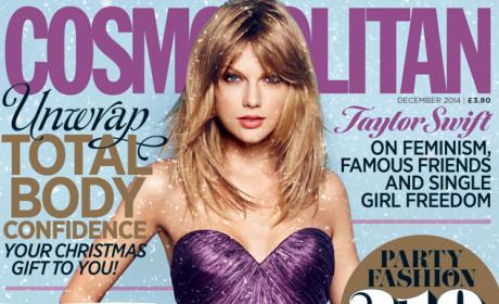 Taylor Swift on British Cosmopolitan