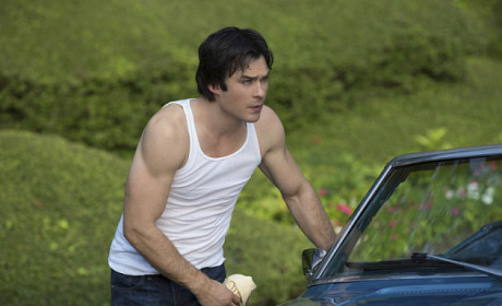 Ian Somerhalde in a Tanktop
