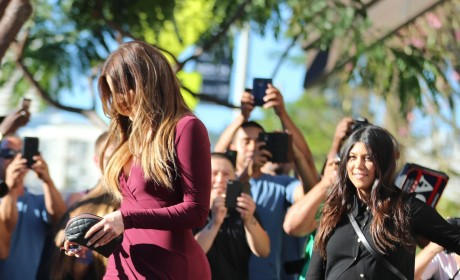 Khloe Kardashian's Butt: Bigger Than Ever at Latest Appearance! Is There No Stopping This Thing?!