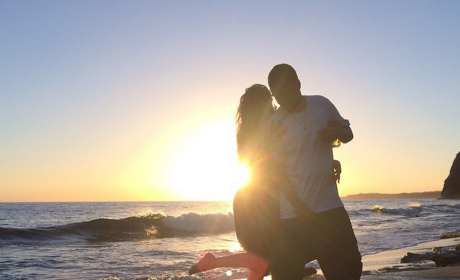 Khloe and French on the Beach
