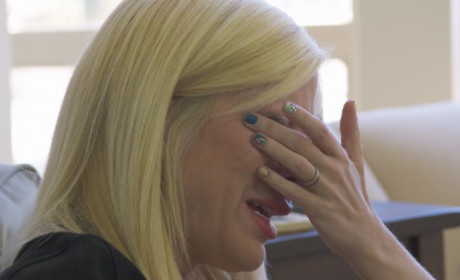 Tori Spelling Crying on True Tori