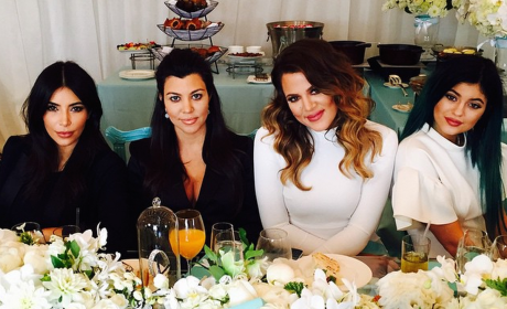 Kourtney Baby Shower Pic