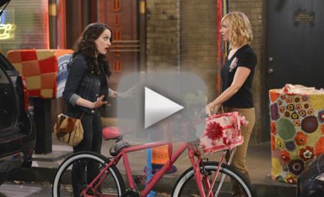 2 Broke Girls Season 4 Episode 4 Recap: Spinning the Old Bike Yarn