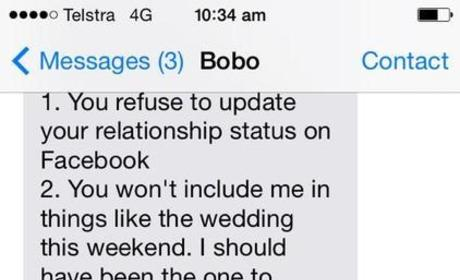 Boyfriend Sends EPIC Break-Up Text, Cites 6 Must-Read Reasons for Split