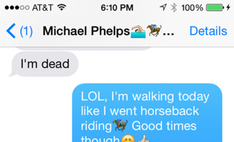 Michael Phelps-Taylor Lianne Chandler Texts Revealed: So Much Nudity and Sadness