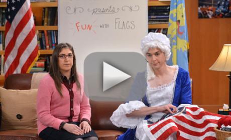 The Big Bang Theory Season 8 Episode 10 Recap: No More Fun with Flags?!?
