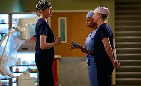 Dr. Herman on Grey's Anatomy
