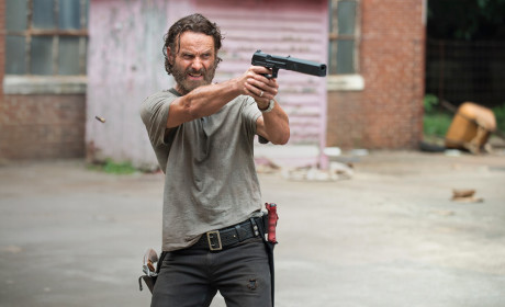 Rick Grimes in Action