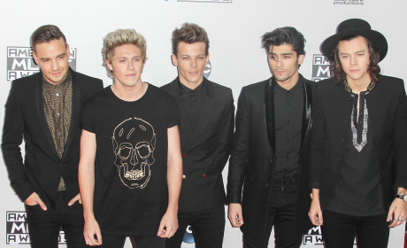 One Direction at the American Music Awards