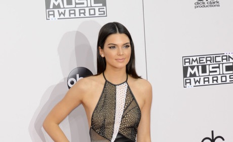 Kendall Jenner at the American Music Awards