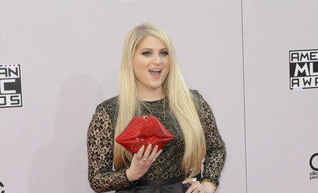 Meghan Trainor at the American Music Awards