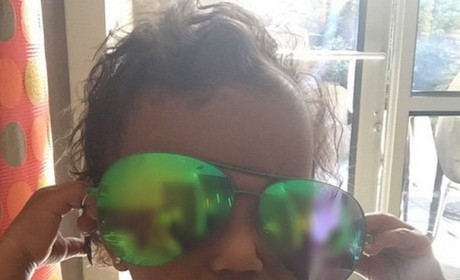 "North West Rocks ""Stunna Shades"" In New Instagram Pic, Acts Like a Mean Girl"