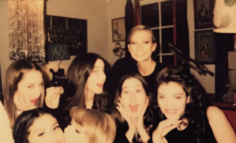 Taylor Swift Smooches Selena Gomez in Sweet Instagram Photo