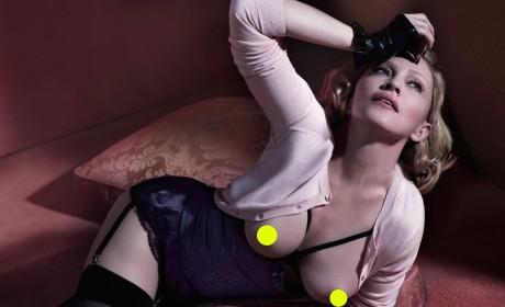 Madonna Topless Photo