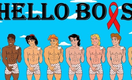 Disney Princes Pose in Boxers for World AIDS Day, Encourage Safe Sex