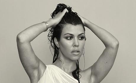 Kourtney Kardashian: Nude for DuJour!