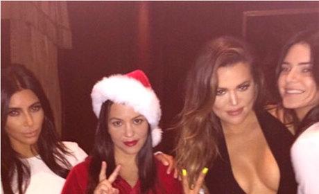 Christmas for the Kardashians
