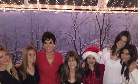 Merry Kardashian Christmas!