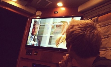 Aaron Carter Watches Lizzie McGuire