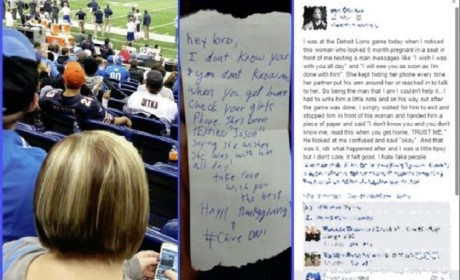 Cheating Fan Busted