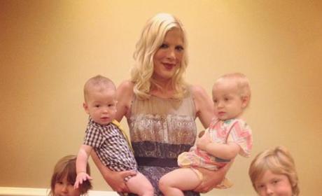 Tori Spelling, Children