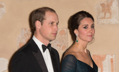 Kate Middleton Shows Off Baby Bump, Sips Champagne (?!) at NYU Fundraiser