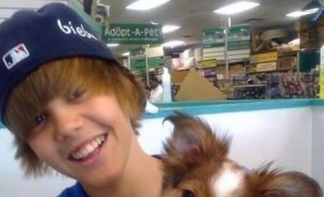 Justin Bieber and Sammy