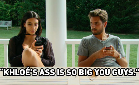11 Disturbing/Seductive/Naked Moments From Kourtney & Khloe Take The Hamptons
