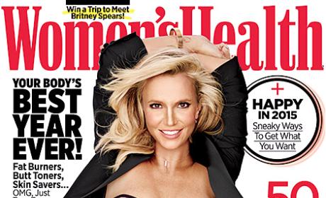 Britney Spears Women's Health Pics