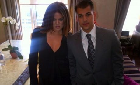Khloe Kardashian: I Would Never Kick Rob Out of the House!