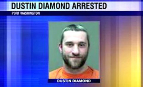 Dustin Diamond Mug Shot
