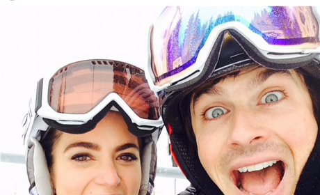 Ian Somerhalder and Nikki Reed Snap Skiing Selfie; Could They Be Any Cuter?!?