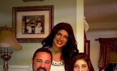 Teresa Giudice to Receive First Prison Visit From Family This Weekend