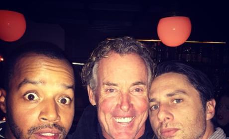 Scrubs Reunion: Zach Braff Shares Selfie With Co-Stars!