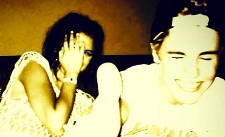 Justin, Selena Photo